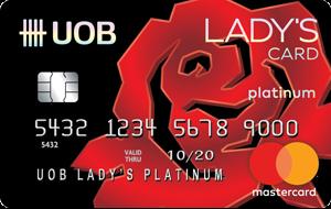 บัตรเครดิต ยูโอบี เลดี้ แพลทินัม
