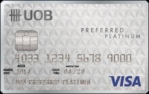 บัตรเครดิต ยูโอบี พรีเฟอร์ แพลทินัม