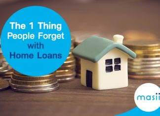 The 1 Thing People Forget with Home Loans