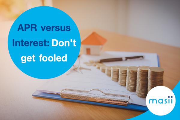APR versus interest: Don't get fooled
