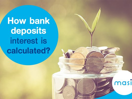 How bank interest is calculated?