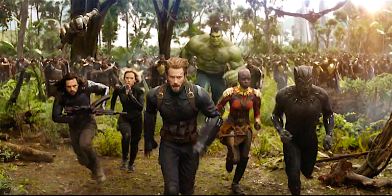Avenger: Infinity War Cr. google