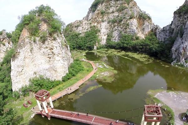อุทยานหินเขางู ราชบุรี