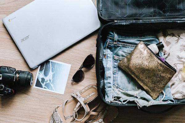 เทคนิคการจัดกระเป๋าเดินทางเวลาไปเที่ยว!
