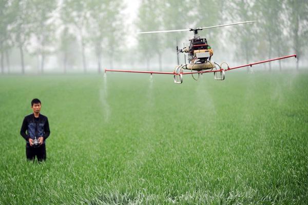 ประกันภัยโดรนสำหรับ โดรนเกษตร