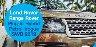 Land Rover Range Rover Plug-In Hybrid Petrol Vogue SWB 2019