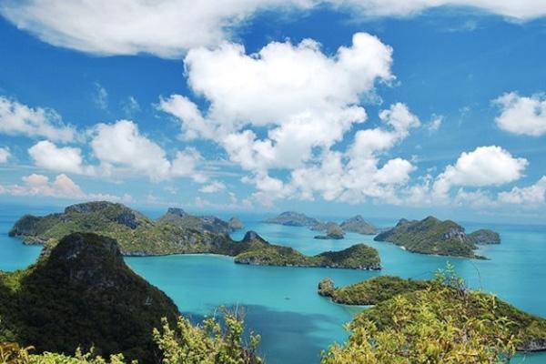 หมู่เกาะอ่างทอง จังหวัด สุราษฎร์ธานี