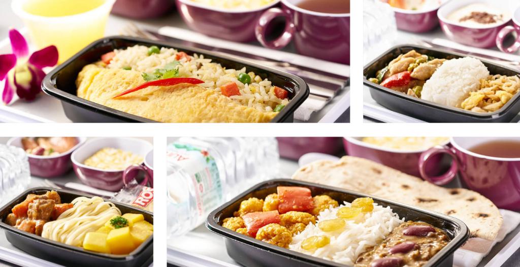 ลิ้มรสอร่อยกับอาหารบนเครื่องบินการบินไทย