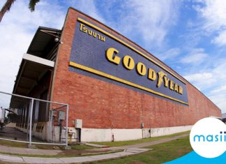 Goodyear (Thailand) Public Company Limited share close up: December 16, 2019 trading