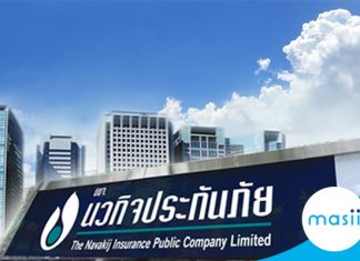 The Navakij Insurance Public Company Limited share close up: December 02, 2019 trading