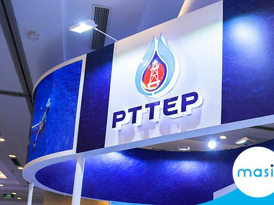 PTT Exploration And Production Public Company Limited share close up: January 09, 2020 trading