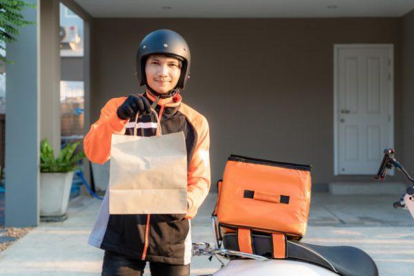 แนะนำ ประกันมอเตอร์ไซค์ สำหรับ แมสเซ็นเจอร์ พนักงานส่งอาหาร Delivery