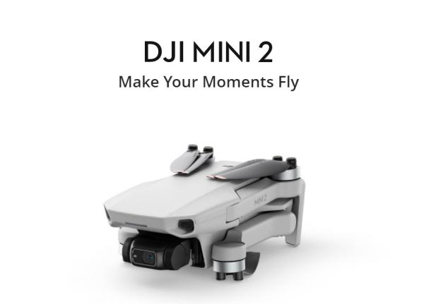 โดรนเล็ก โดนใจ DJI Mini 2 ใหม่ล่าสุด!