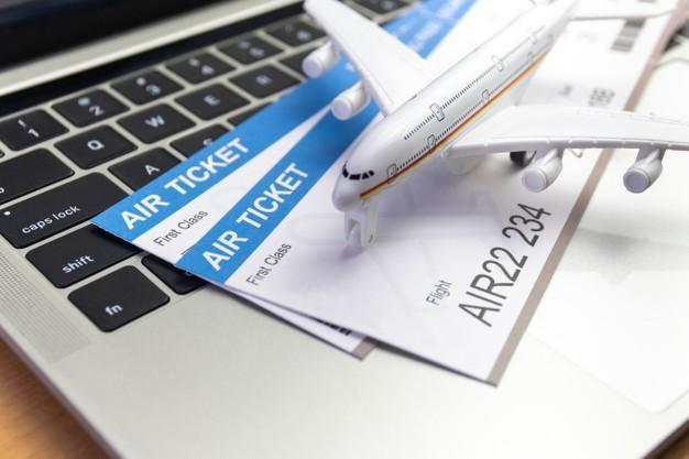 Flight booking confirmation